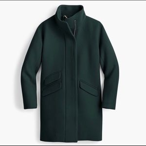 NWT J. Crew Cocoon Coat - Dark Green P2